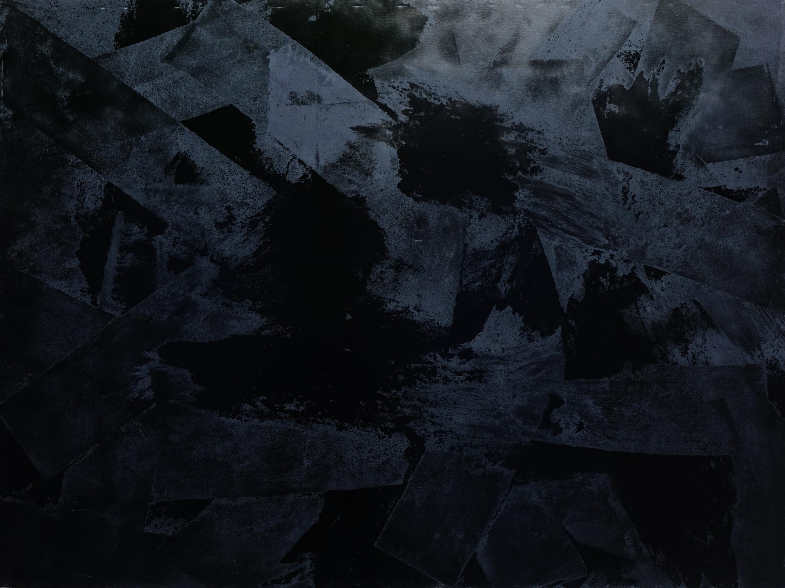 Black Void No. 18, 2017, 259cm x 194cm 200F, Oil on Canvas.jpg