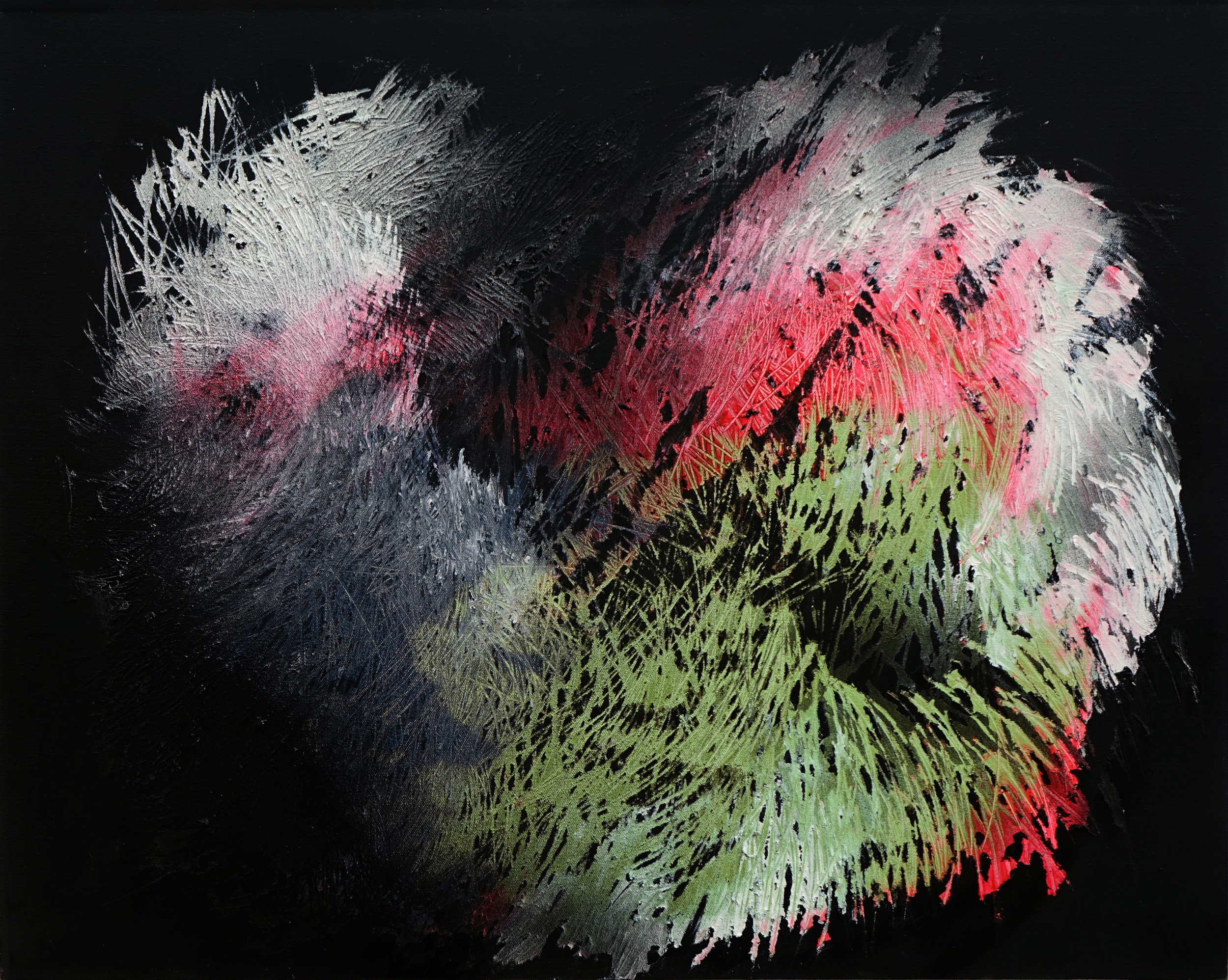 灿 01, 2012, 100cm x 80cm, Oil on Canvas.jpg