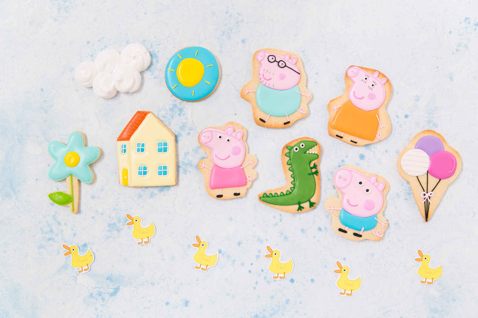 Oui Party - Peppa Pig Party - XO Bakes - Cookies.jpg