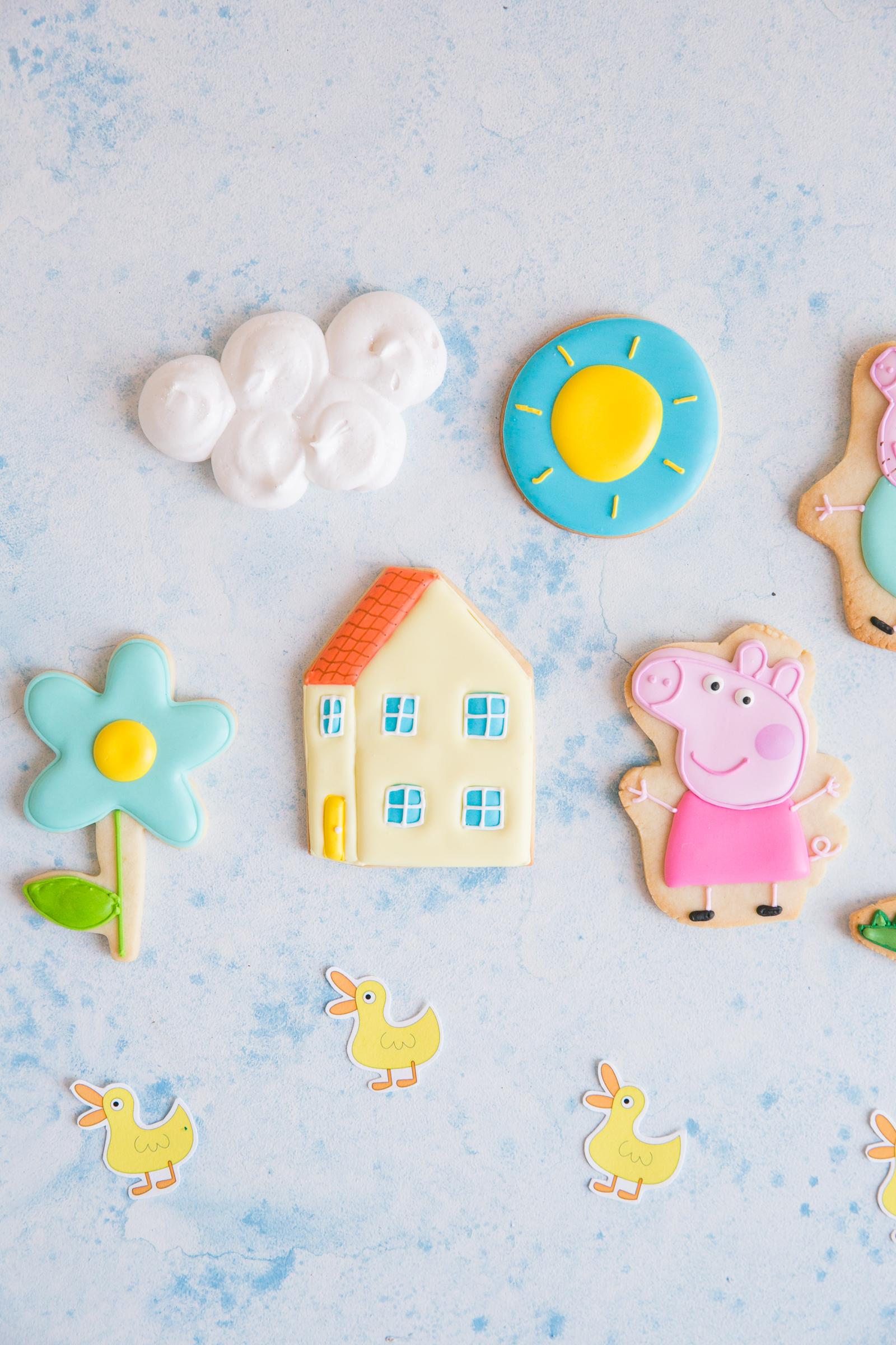 Oui Party - Peppa Pig Party - Peppa Pig Cookies 2.jpg