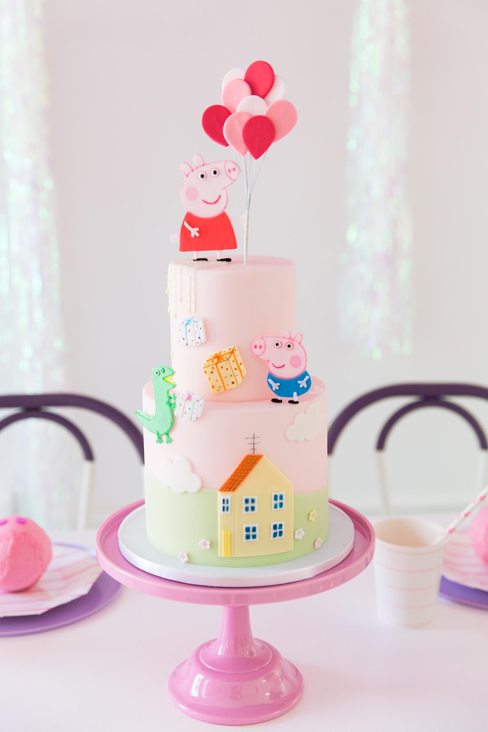 Oui Party - Peppa Pig Party - Peppa Pig Cake 2.jpg