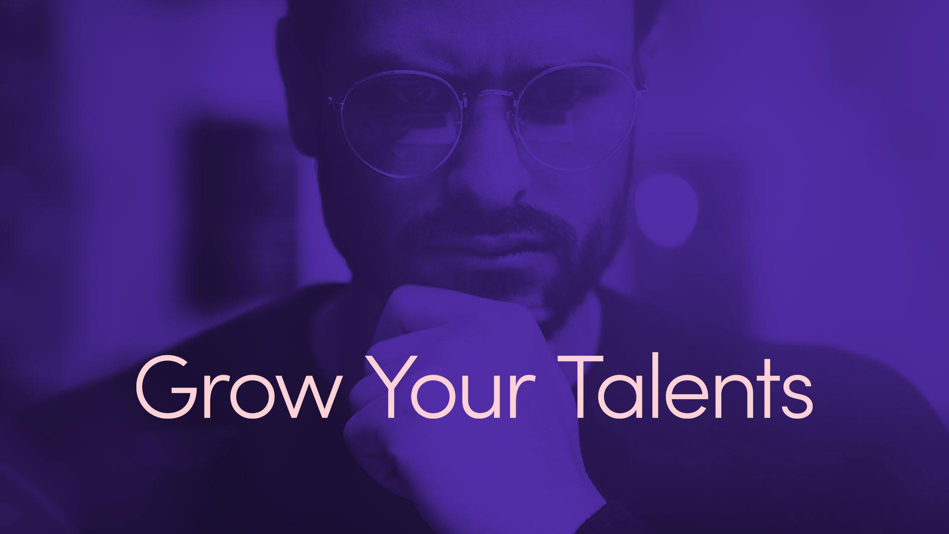 Låt dina talanger växa! - Utvecklingen går i ett rasande tempo vilket ställer helt nya krav, både på att lära in nytt (reskilling) och att uppdatera och förädla befintliga kunskaper inom utvalda områden (upskilling). För att förbli relevant på arbetsmarknaden måste både organisationer och individer idag klara av att ständigt växa sina talanger.Vissa människor hävdar att talang är något vi föds med. Vi håller inte med.