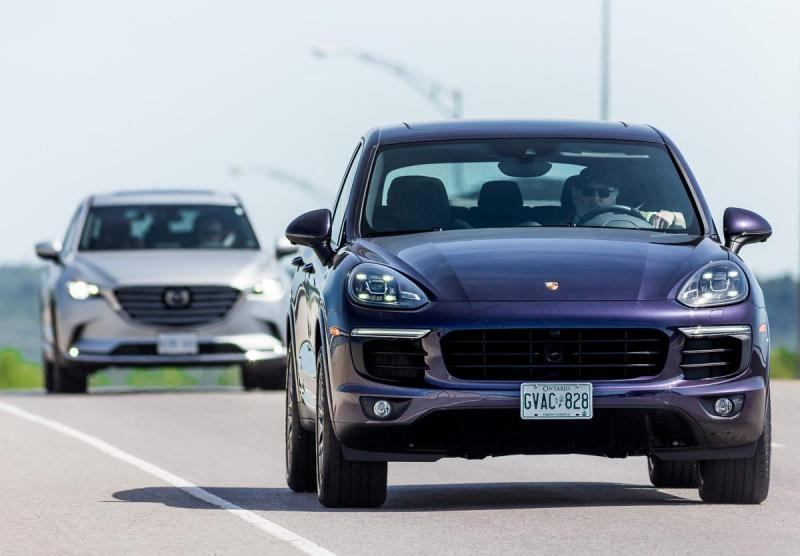 The Porsche Cayenne may not look green, but our team of journalists averaged 8.0 litres/100 km in this 416 hp, plug-in hybrid.