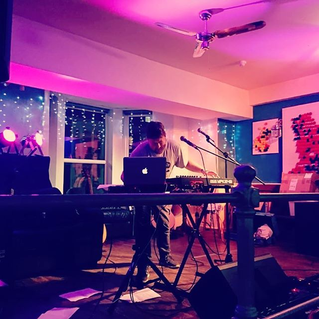 Last night @nosdacardiff One of the nicest venues I've played so far. Thanks to Gavin from @piandhash for having me!