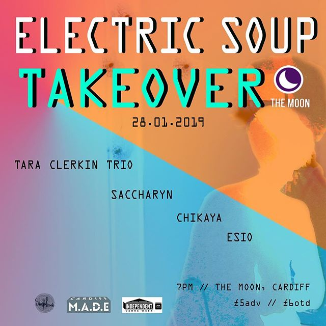 Excited to be playing the first instalment of #electricsoup as part of @ivw_uk alongside some great musicians! 28/01 tickets available now!! https://www.seetickets.com/event/independent-venue-week-electric-soup-takeover/the-moon/1300555