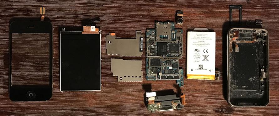 an iPhone teardown