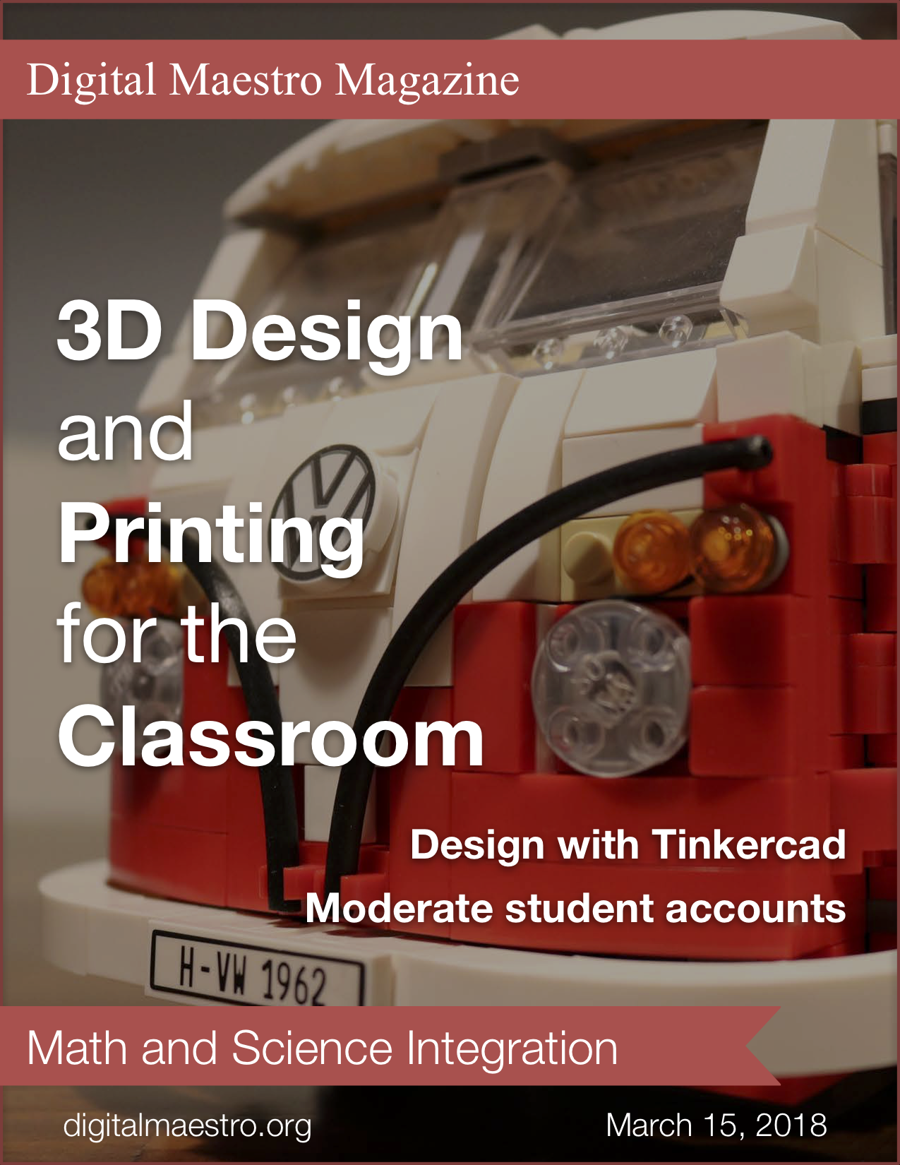 3D design and printing in the classroom - Use TinkerCAD to design models. Design models that teach math and science concepts.