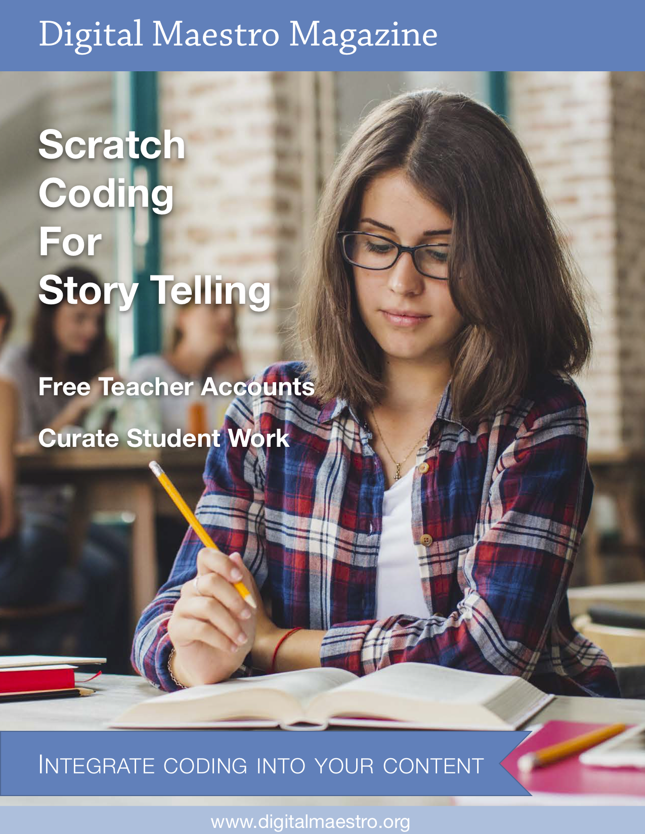 Scratch Coding for Storytelling - Use Scratch to create interactive stories. Create a teacher account and curate student work.
