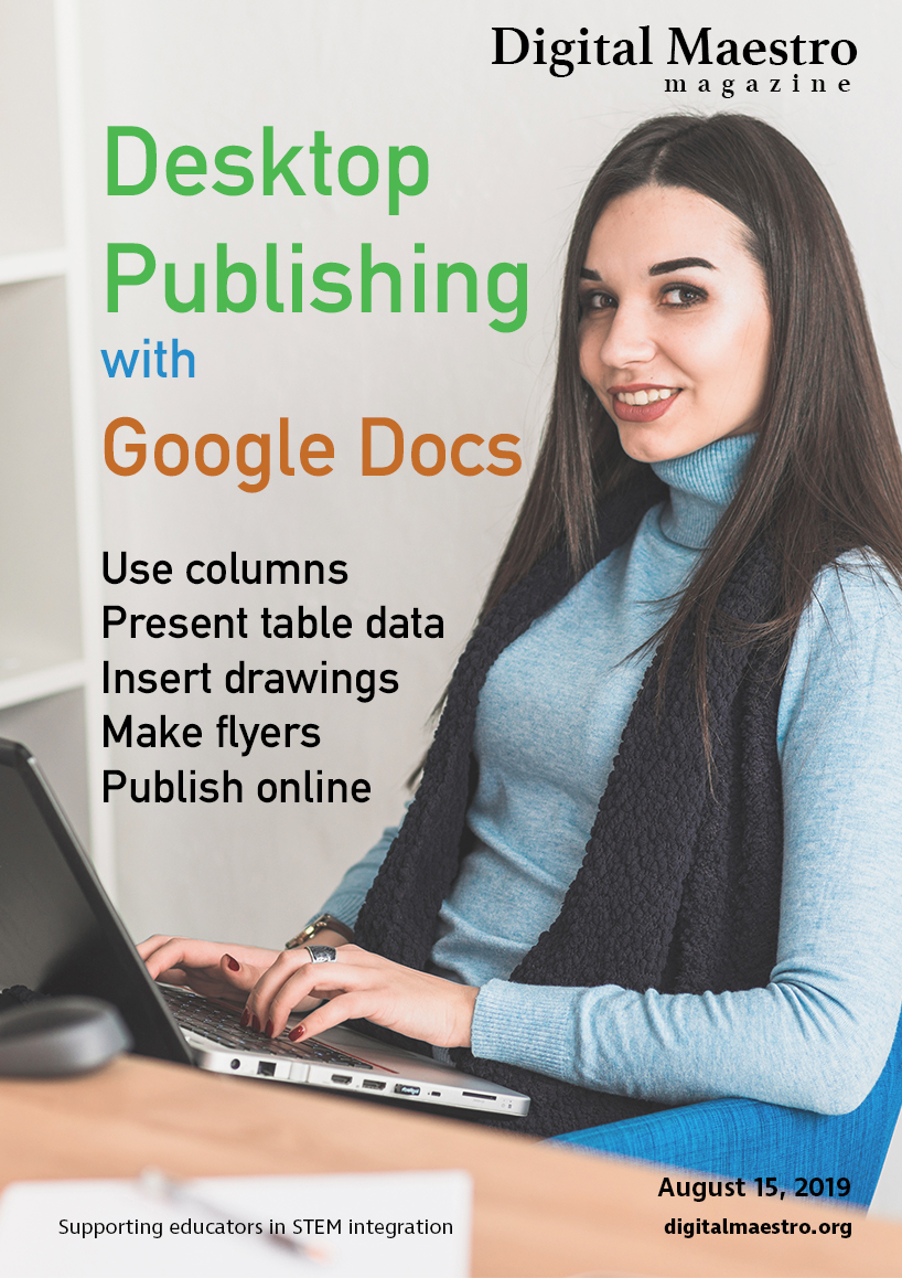 Desktop Publishing with Google Docs -