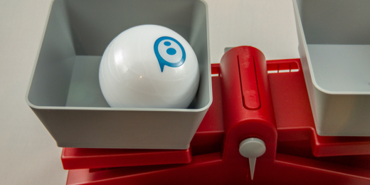Sphero on a balance scale