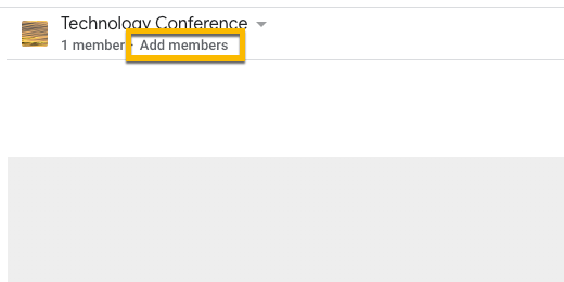 Add members to Team Drive