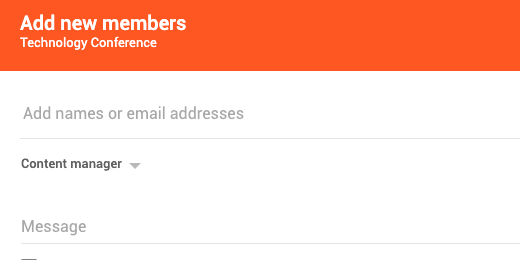 Add members configuration