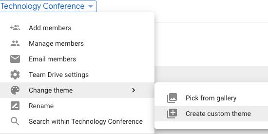 Create your custom theme