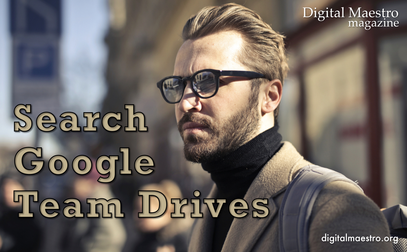 Search within Google Team Drives