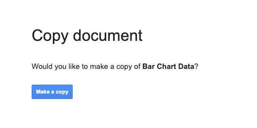 Make a copy of the chart data