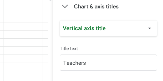 Vertical axis title