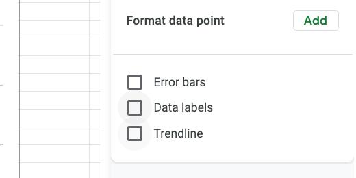 Data labels box