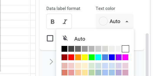 white text color