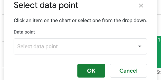 data point selector