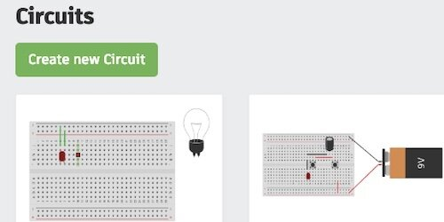 create a new circuit button