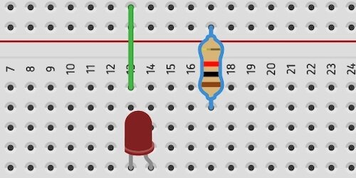 remove resistor from led circuit