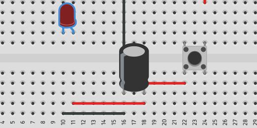 reposition LED on breadboard
