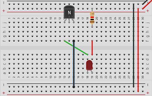 basic circuit for transistor