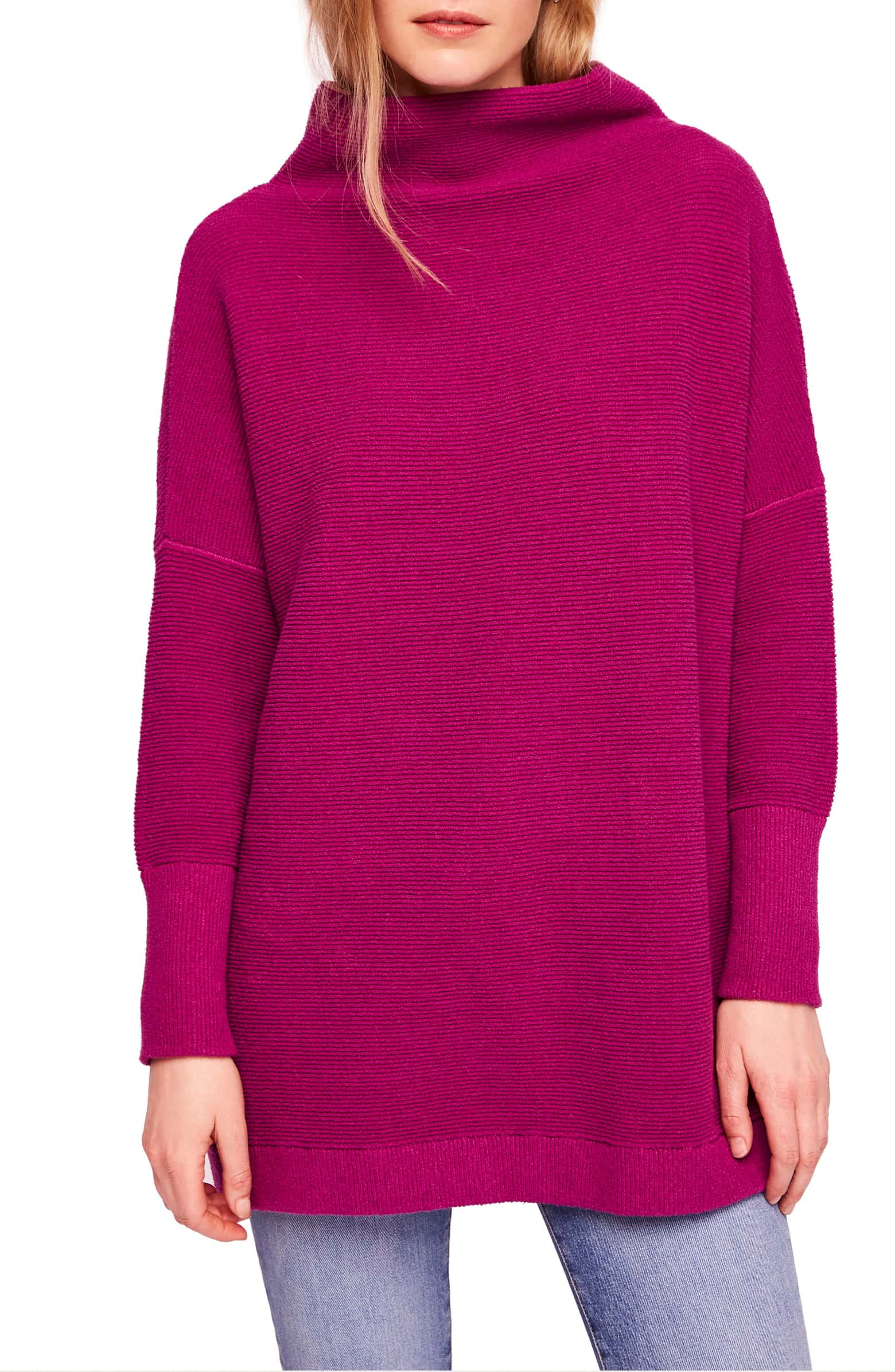 Free People Dark Pink sweater.jpeg