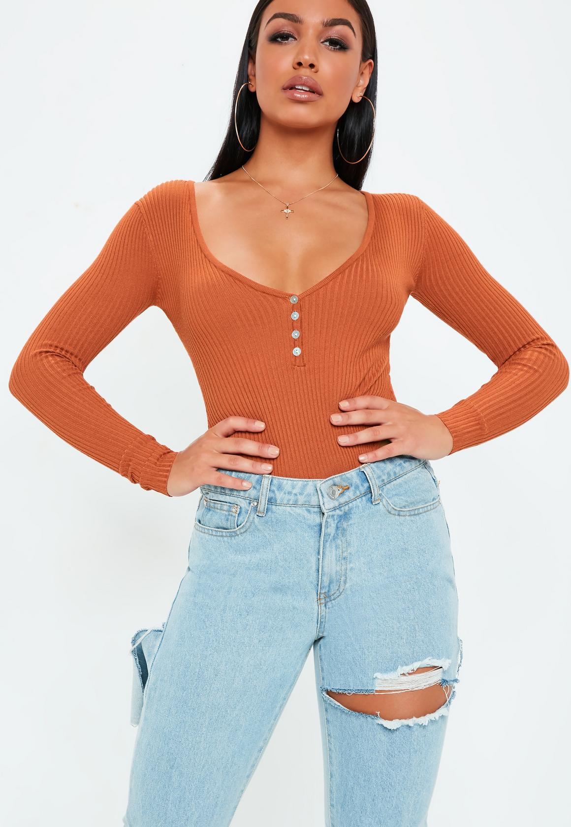 rust-plunge-button-up-ribbed-knitted-bodysuit.jpg