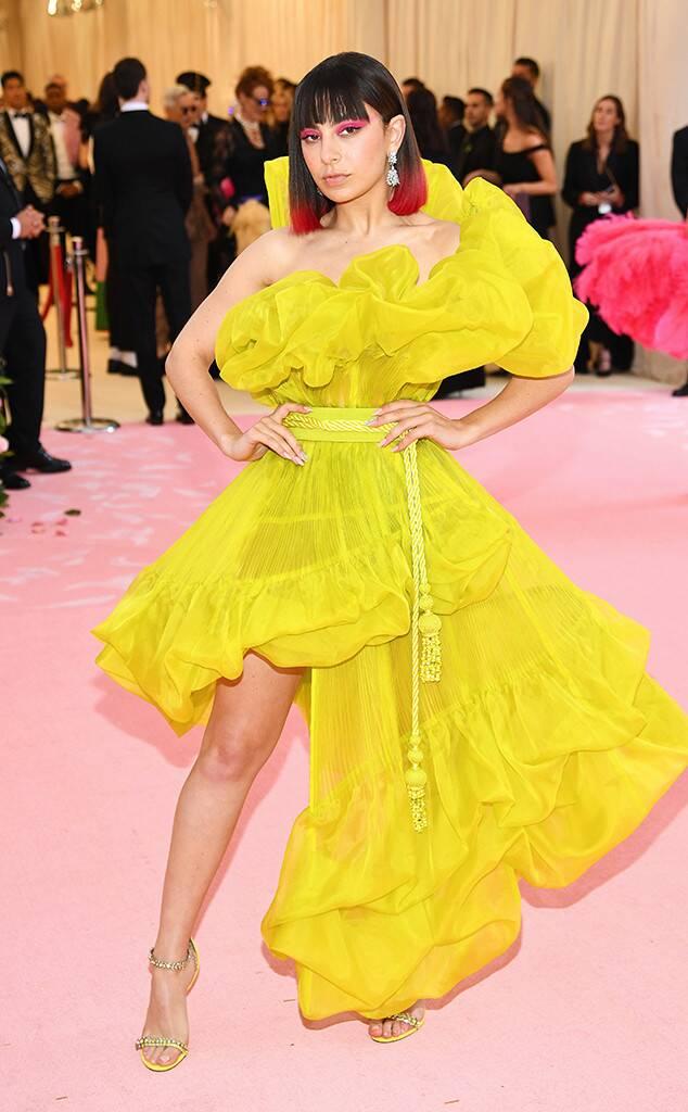Charli XCX (wearing Jean Paul Gaultier)