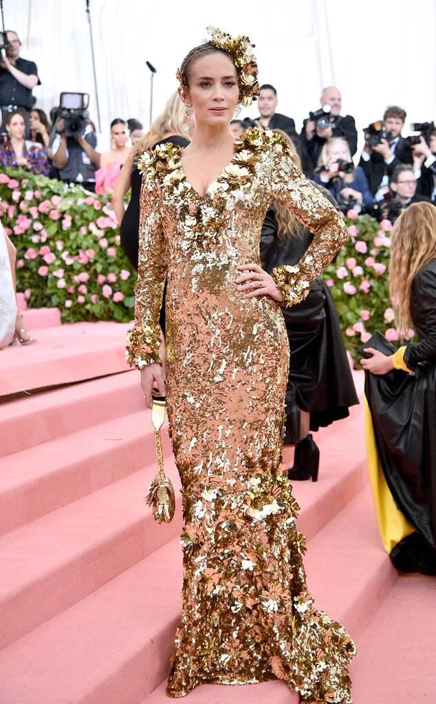 Emily Blunt (wearing Michael Kors)
