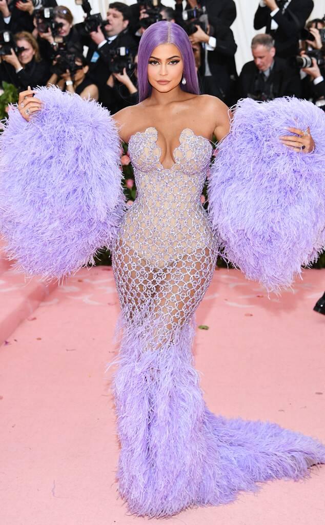 Kylie Jenner (wearing Versace)