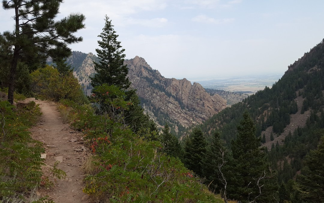 This would be part of the Indian Peaks Traverse trail…