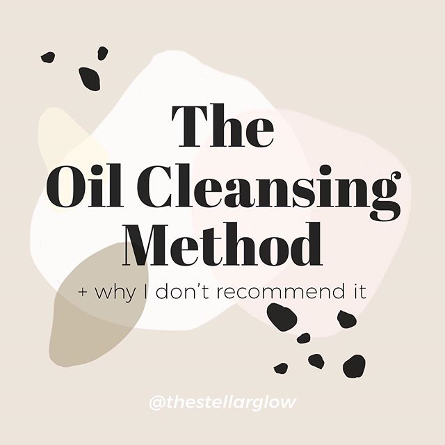 """OIL CLEANSING FOR ACNE…⠀ ⠀ You've heard of the oil cleansing method, right? If not, let me fill you in.⠀ ⠀ It's a cleansing method where you massage oils (jojoba, argan, castor, etc…) into your skin, then apply a hot washcloth + wipe it off. You repeat this process until the oil is removed.⠀ ⠀ The basic concept of the OCM is that the oil used to massage your skin dissolves the oil that clogs your pores, """"tricking"""" your skin into producing less of it. And the steam from the hot washcloth """"opens"""" your pores, allowing the oil to easily be removed. 🤔 ⠀ ⠀ Why I DON'T recommend it:⠀ ⠀ 1️⃣It's not just sebum (oil) that clogs your pores! It's a mixed bag of oil AND dead skin cells, bacteria, white blood cells + cytokines! An oil CAN'T penetrate deep into your pore to clear out all the stuff that makes up a clogged pore!⠀ ⠀ 2️⃣Applying oils to your face CAN'T """"trick"""" your skin into thinking that there's enough oil on your face so that it stops overproducing it. From a biological perspective, this makes 0 sense! Production of sebum is regulated by your hormones (androgens) - which means it's an INSIDE job!⠀ ⠀ 3️⃣You're repeatedly applying a hot washcloth to your face! Ummm…want dry, damaged skin? Because that's a great way to get it. Warm water is best!⠀ ⠀ 4️⃣Your pores DON'T open + close! They are not a muscle. When you hear that steam """"opens"""" your pores, the pores don't actually expand.⠀ ⠀ 5️⃣Most facial oils are clogging AF! Even if they have a low comedogenic rating, they tend to clog skin overtime. At first it might seem to help but breakouts can manifest MONTHS down the road!⠀ ⠀ ❌For these reasons I never recommend the OCM for anyone with acne. In fact, I don't recommend most oils at all if you have acne. A lucky few have success with it but that's not typical! I've had clients come to me with HORROR stories after trying the OCM. They've done everything right, used a non-comedogenic oil + STILL ended up with intense cystic + comedonal breakouts, usually dry skin due to """