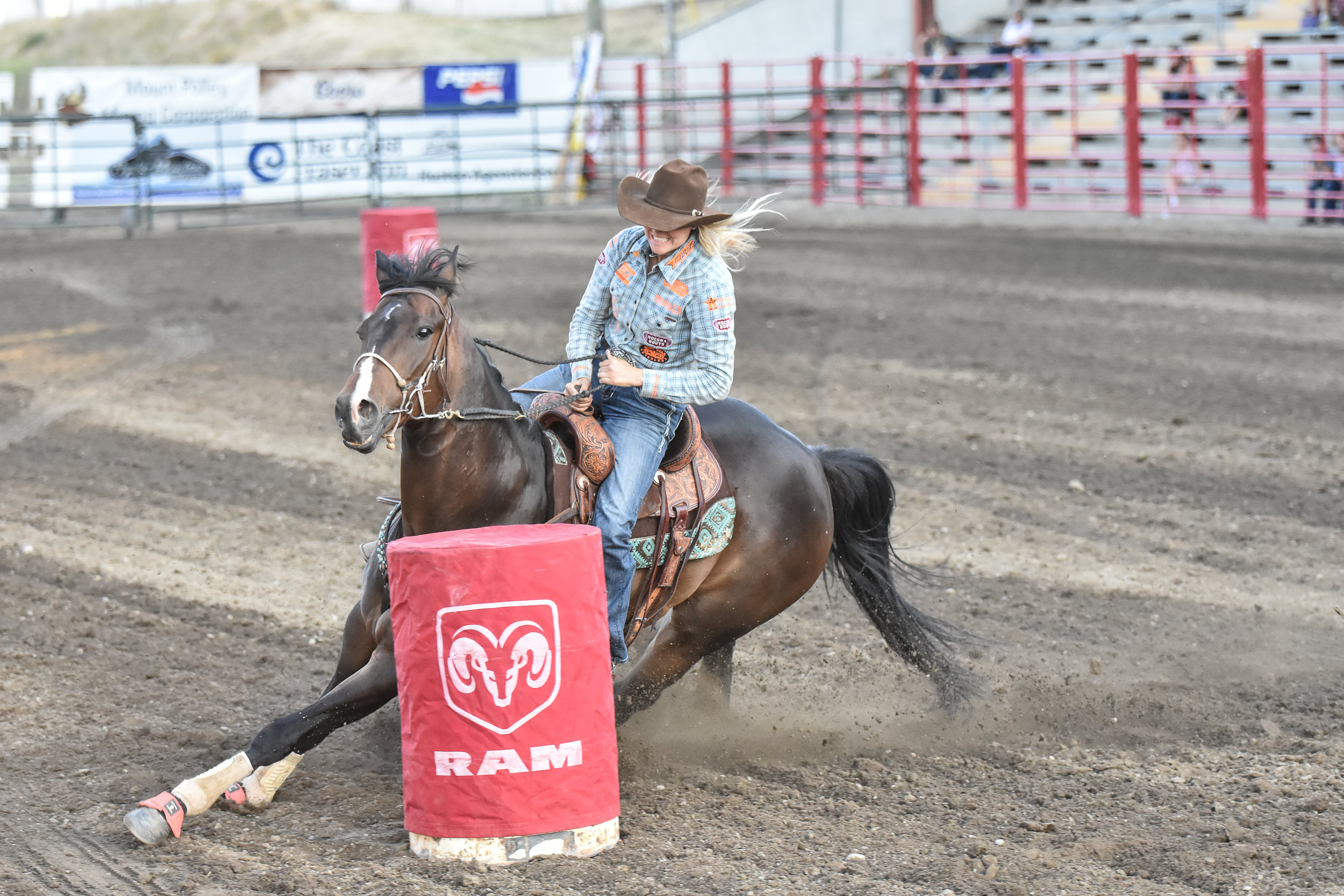 BARREL RACING -