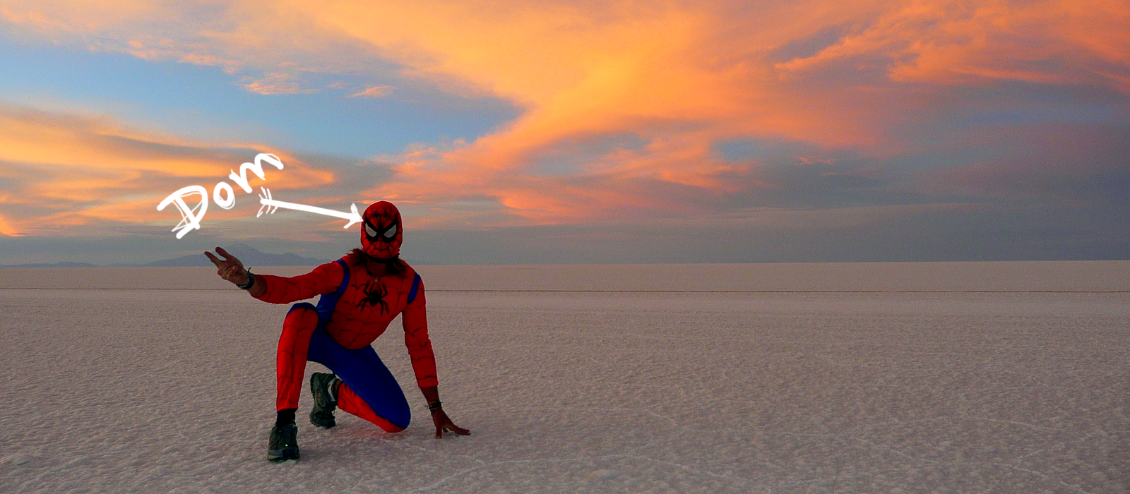 The seed of Encompass Films was born here. The Salar de Uyuni, Bolivia. One of the driest, saltiest places on Earth. -