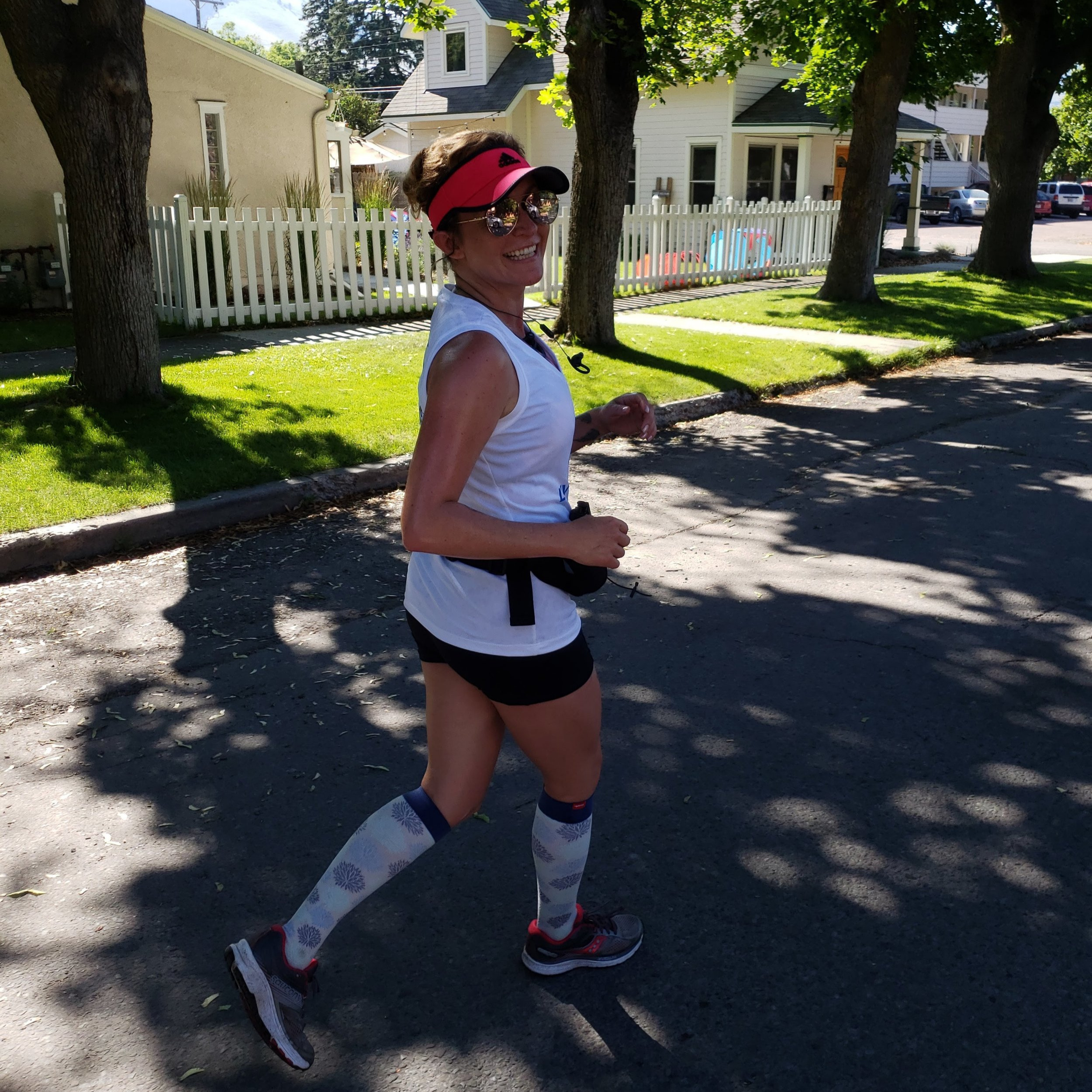 Heather schwartz raised support for living art by running in the missoula marathon - 2018 - Are you a runner? It doesn't matter if you live here in Missoula. Living Art has a Crowdrise page. Search for us, upload a sweet shot of you and invite your friends and family to support you and raise money for Living Art!
