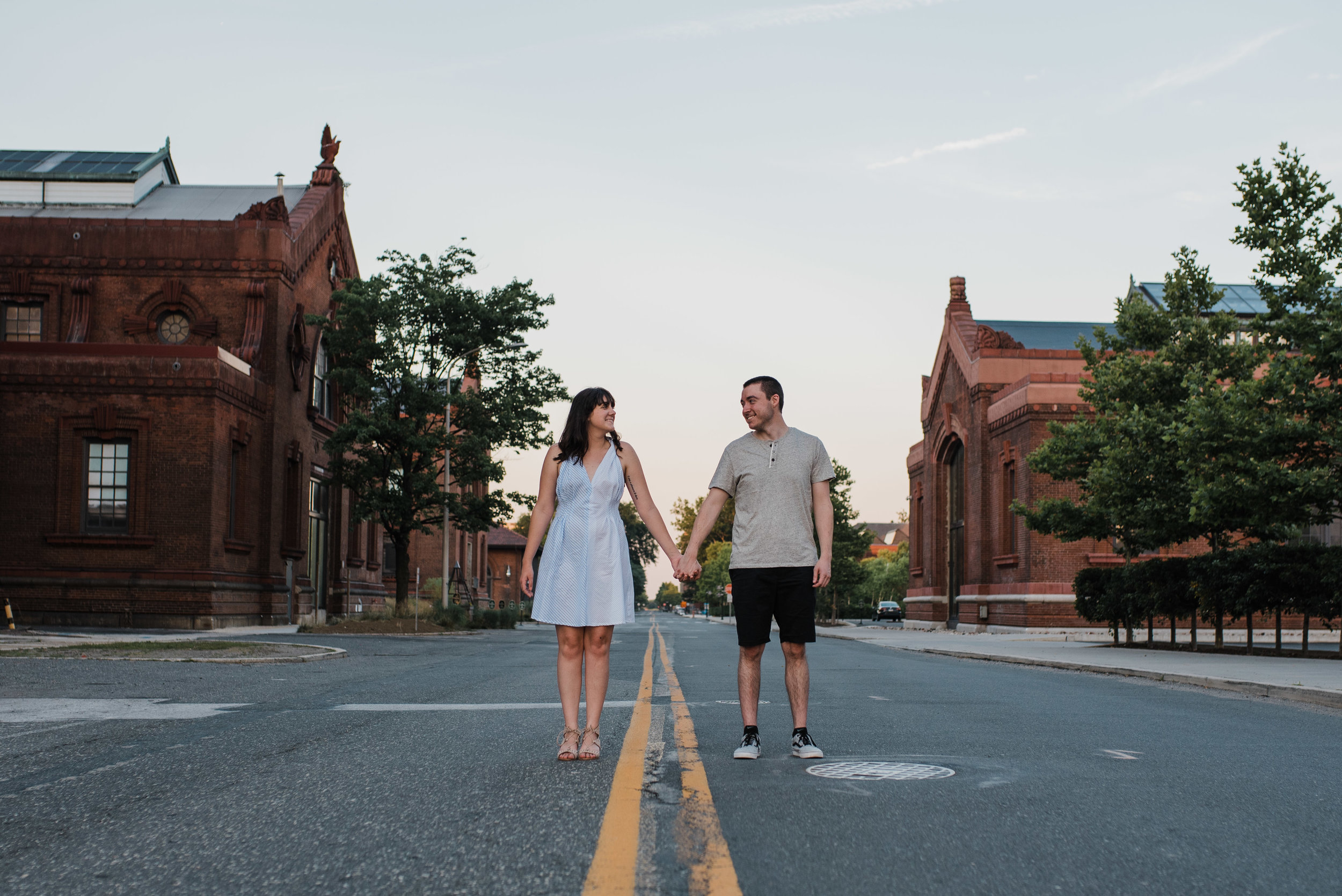 Navy Yard Engagement Session