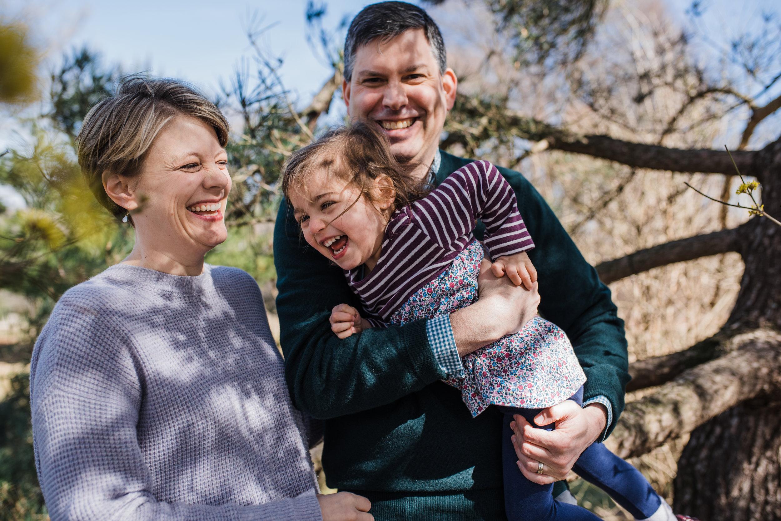 Morris Arboretum Family Session