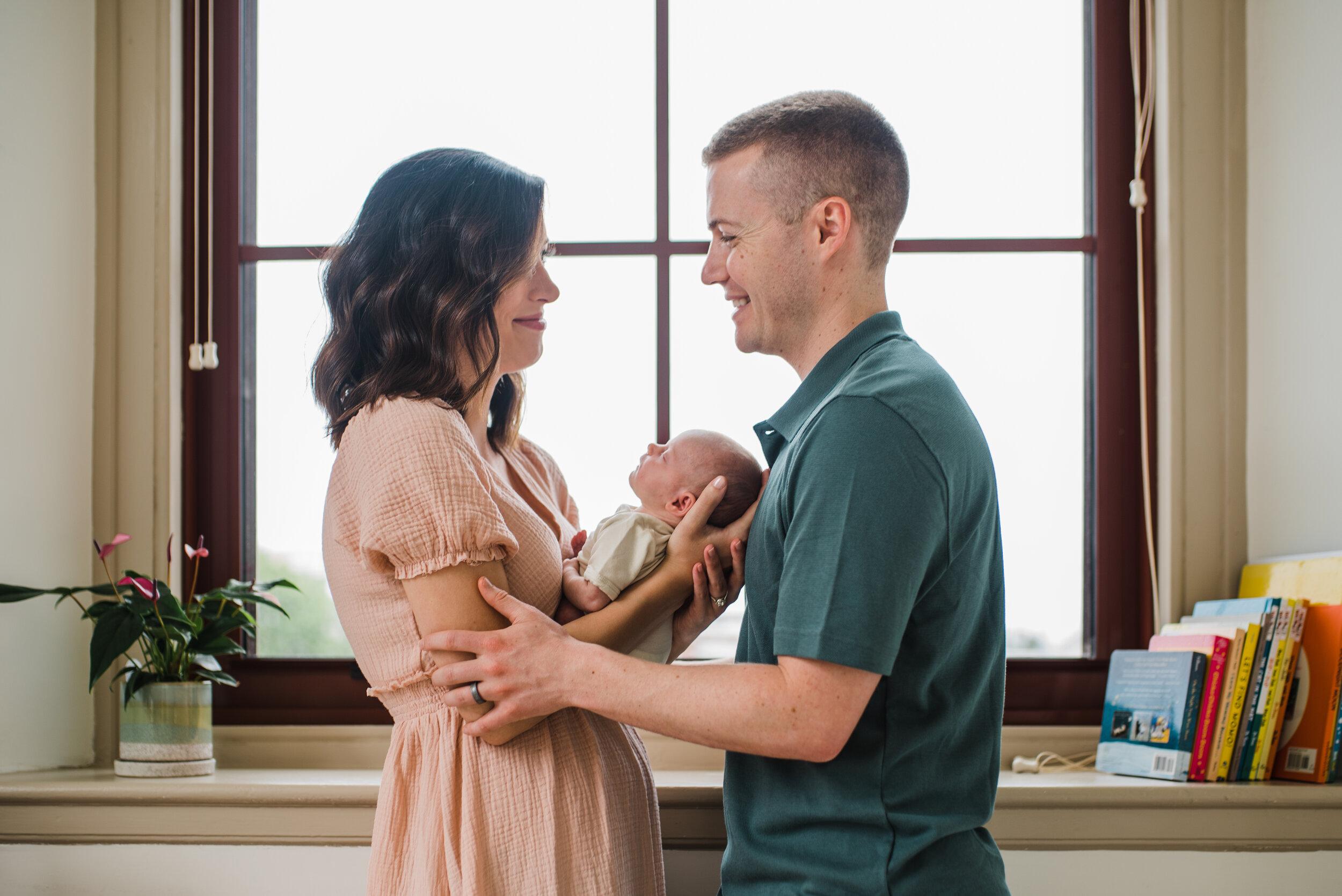 In-Home Newborn Photoshoot