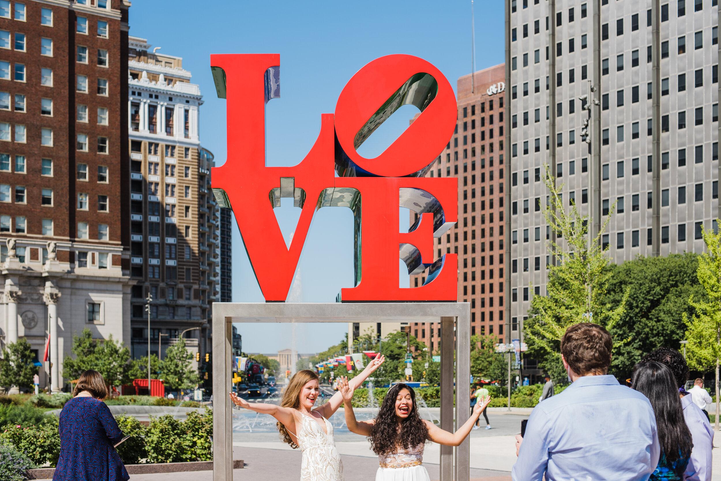 Love Park Elopement