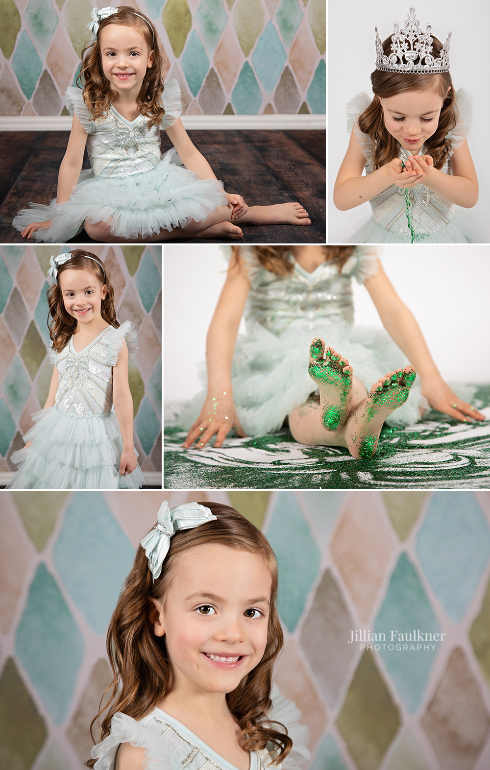 Jillian Faulkner is a child and family photographer located in Calgary, Alberta offering portrait photography sessions in studio and on location. Jillian is passionate about milestone photography sessions for children and offers a large variety of backdrop selections to her clients.