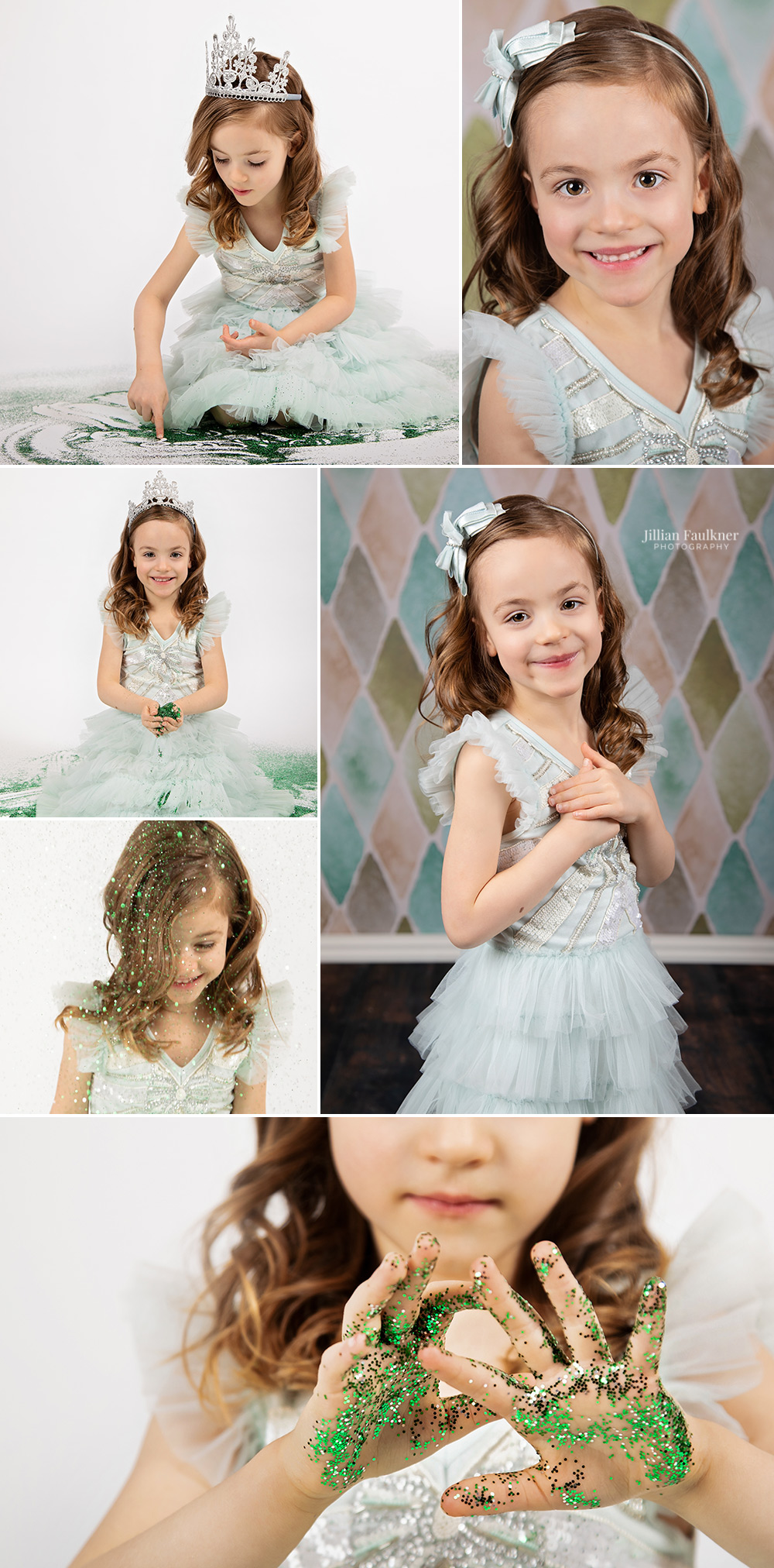 Jillian Faulkner is a child and family photographer located in Calgary, Alberta offering portrait photography sessions in studio and on location. Jillian is passionate about milestone photography sessions for children and offers a variety of backdrop selections to her clients.