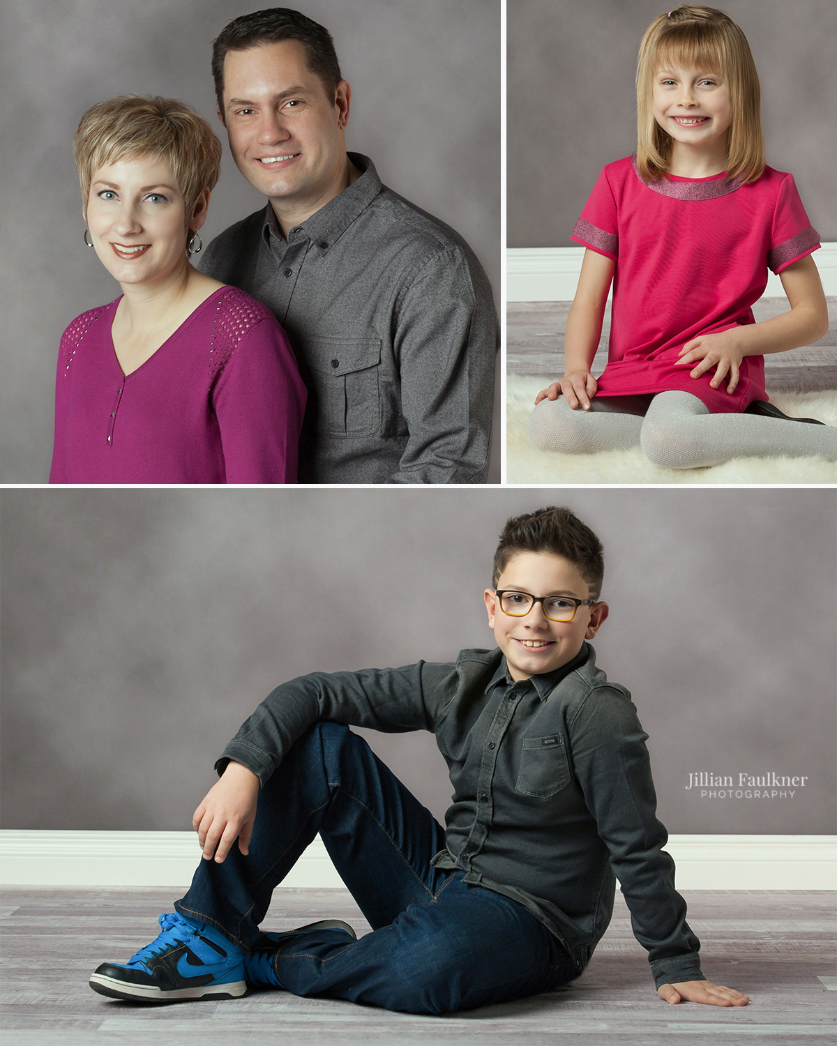 Jillian Faulkner is a professional photographer based in Calgary, Alberta offering customized maternity, newborn, child and family portrait photography sessions both on location and in studio.