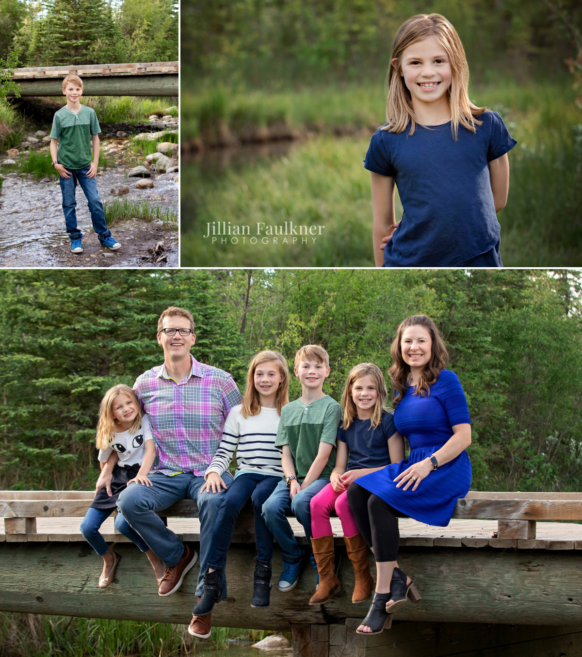 Calgary newborn, child and family photographer, Jillian Faulkner offers portrait photography session both on location and in her southwest Calgary photography portrait studio. Her attention to detail, and beautifully printed final images are what keep her clients coming back year after year!
