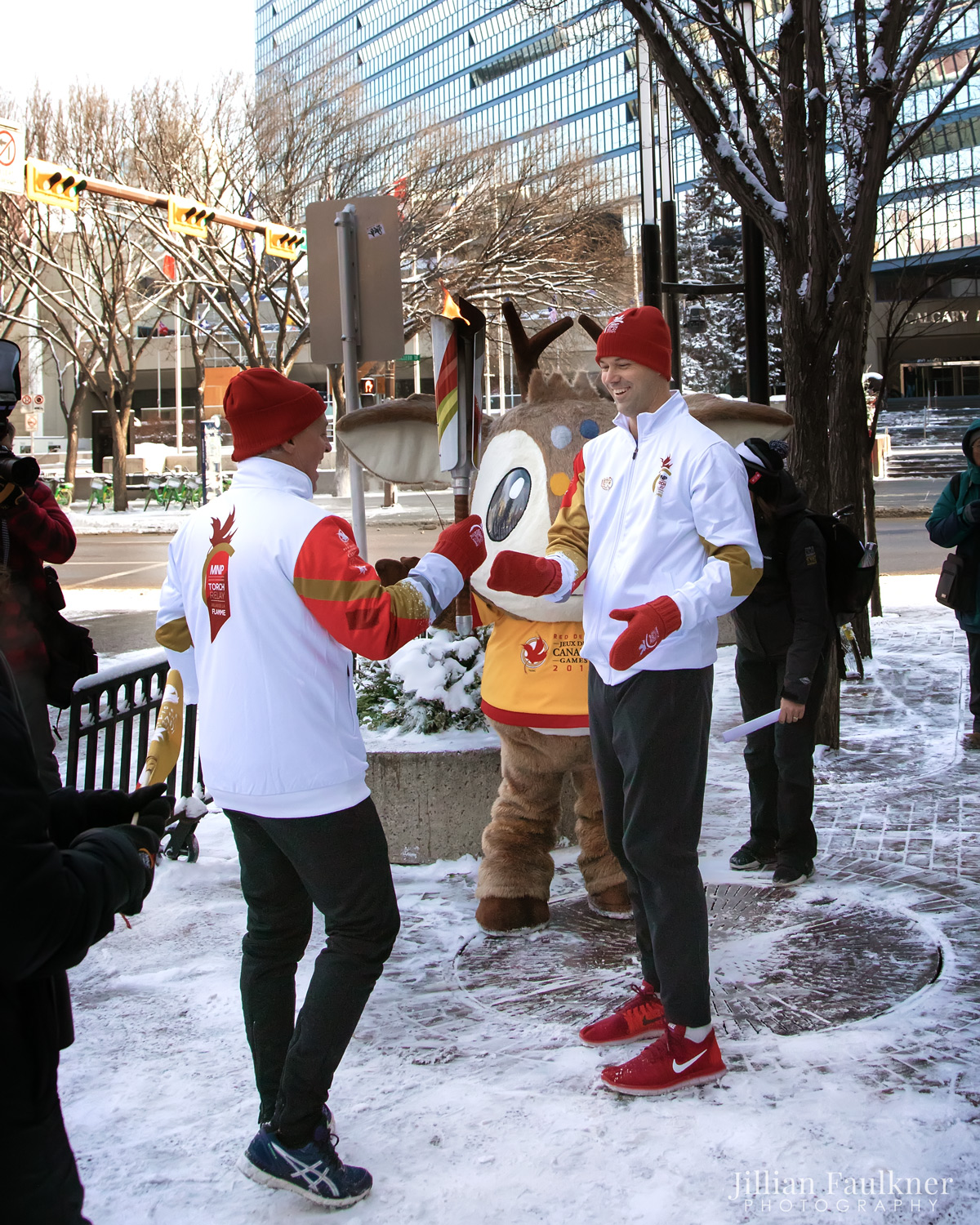 2019 Canadian Winter Games Torch Relay - Nova Chemicals Sponsor - All Images © Jillian Faulkner Photography - Jillian Faulkner is a professional portrait photographer offering newborn, child and family photography in Calgary, Alberta and surrounding communities.