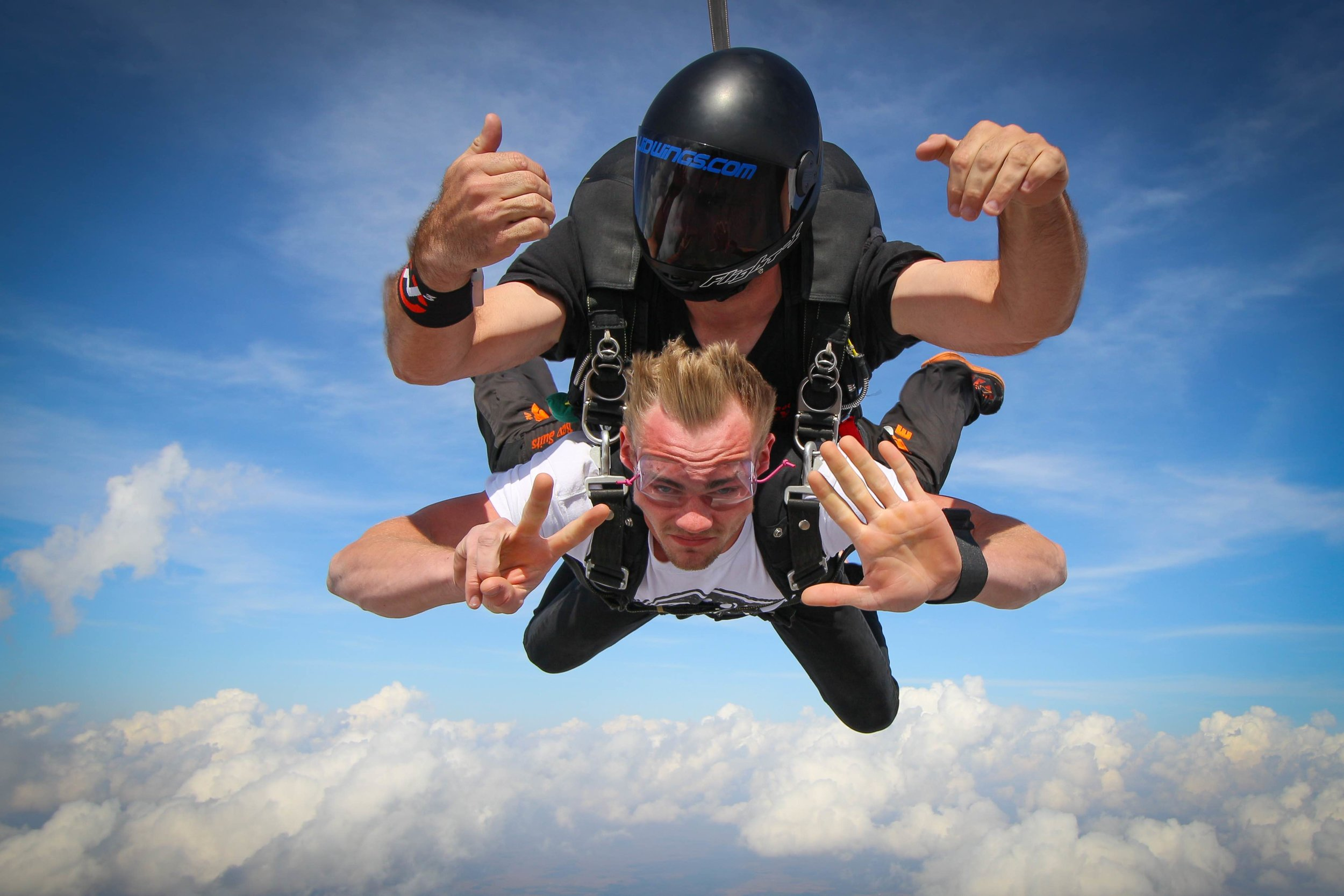 What's your altitude? Your skydive instructor wants to know!