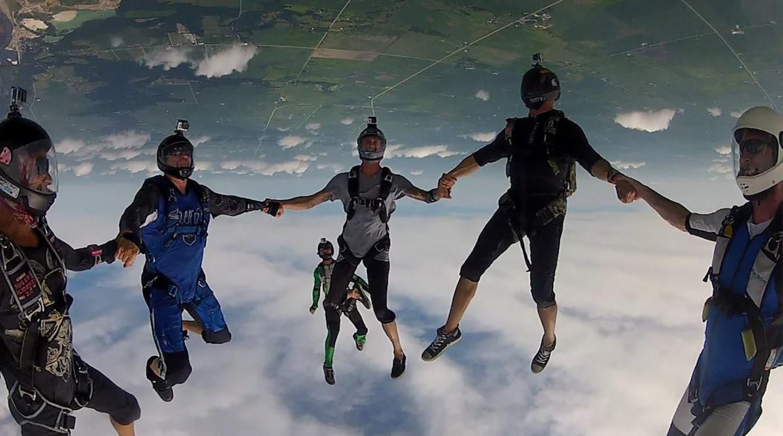 Free fly at Skydive Indianapolis
