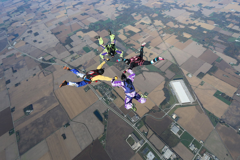 Fun jumper formation