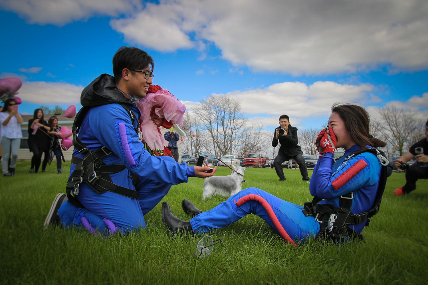 Skydiving & Proposals